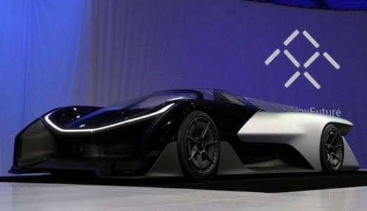 乐视宣布与美国初创电动汽车公司faraday