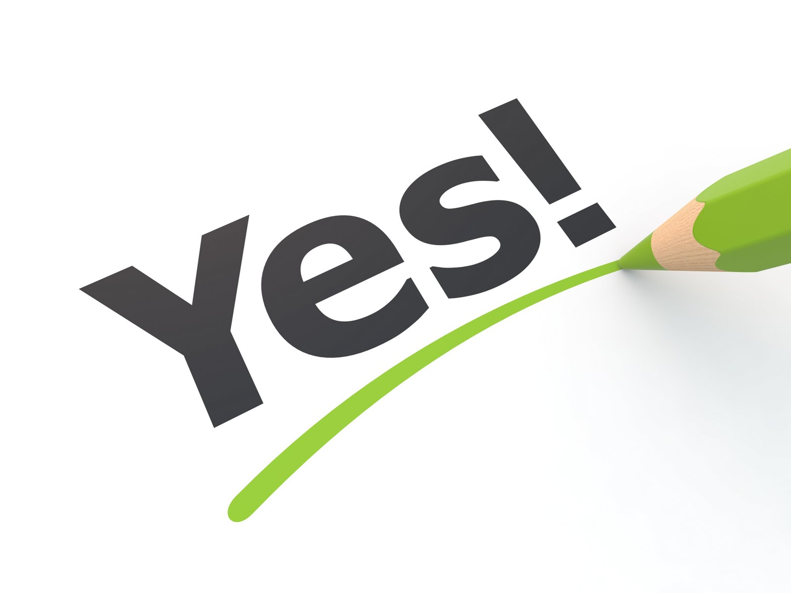 Image result for YES! PENCIL