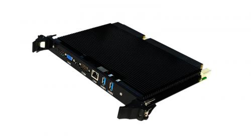 领存发布16核飞腾6U OpenVPX一键自毁功能军用异构并行计算机