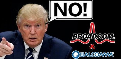 特朗普为何禁止博通收购高通?为何扯上中国?