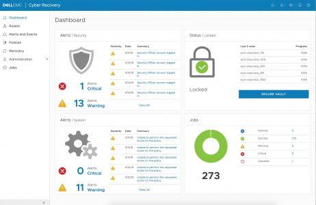 戴尔易安信Cyber Recovery软件提供抵御网络攻击的数据保护终极防线