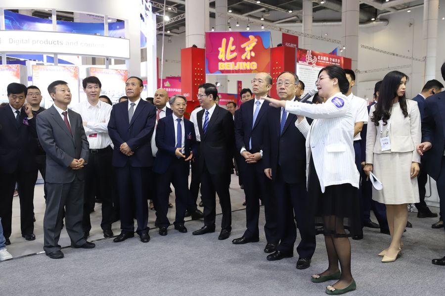 《聚焦CIDS2019(7):参观北京企业展台》