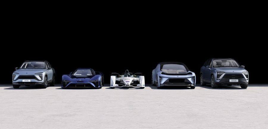 《聚焦CIDS2019(12):蔚来汽车展示》